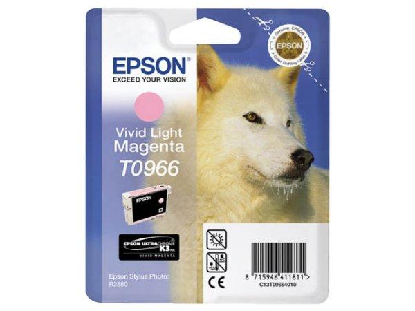 Original Epson C13T09664010 / T0966 Tinte Magenta (Light)