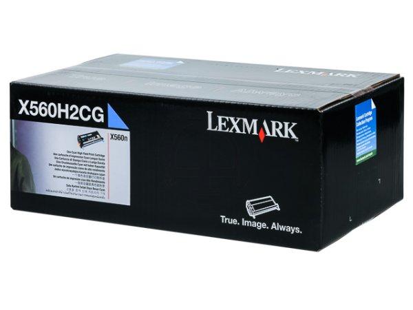 Original Lexmark X560H2CG Toner Cyan