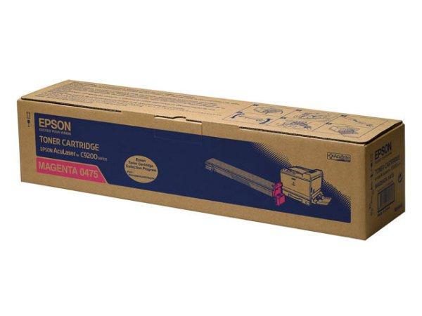 Original Epson C13S050475 Toner Magenta