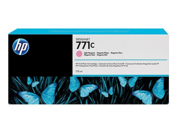 Original HP B6Y11A / Nr. 771C Tinte Magenta (Light)