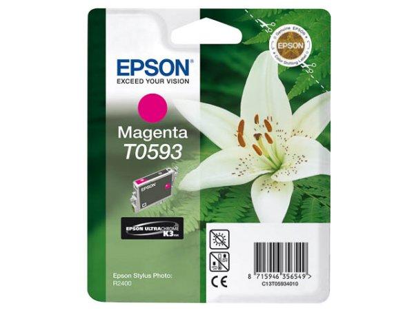 Original Epson C13T05934010 / T0593 Tinte Magenta