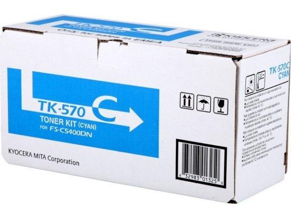 Original Kyocera 1T02HGCEU0 / TK-570C Toner Cyan