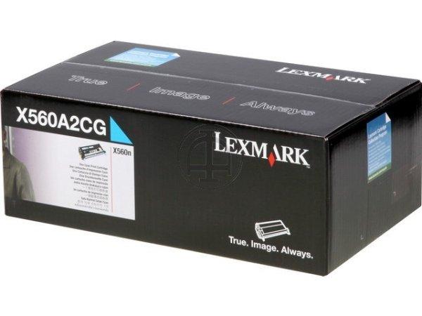 Original Lexmark X560A2CG Toner Cyan