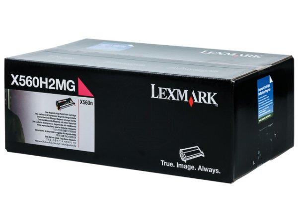 Original Lexmark X560H2MG Toner Magenta