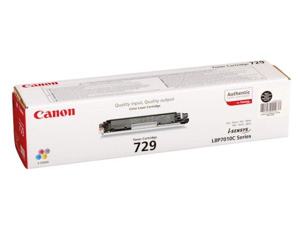 Original Canon 4370B002 / 729BK Toner Black