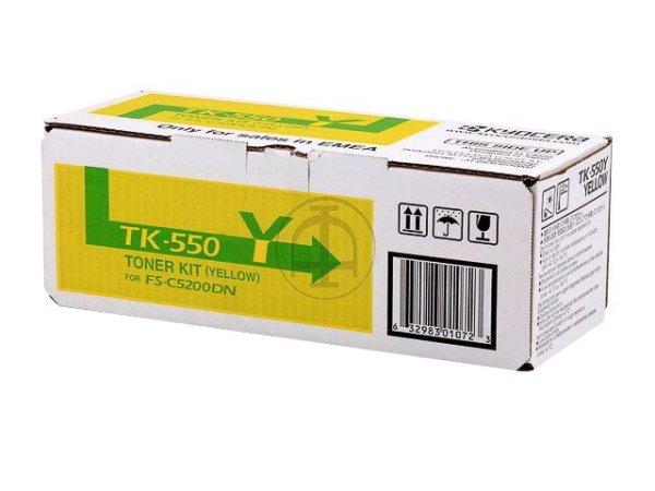 Original Kyocera 1T02HMAEU0 / TK-550Y Toner Yellow