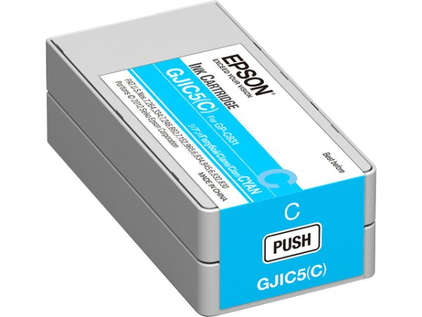 Original Epson C13S020564 / GJIC5(C) Tinte Cyan