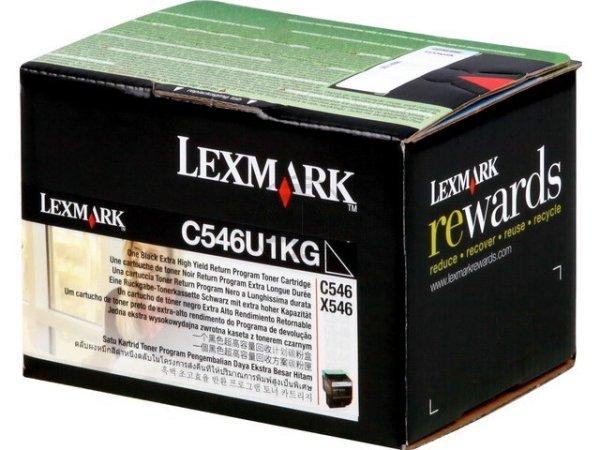 Original Lexmark C546U1KG Toner Black Return