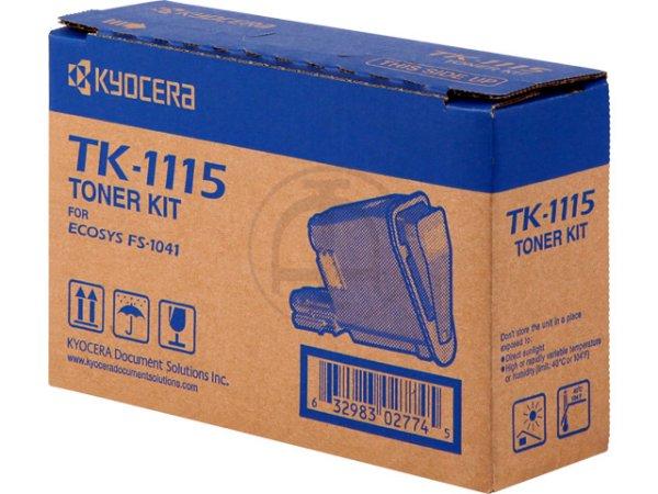 Original Kyocera 1T02M50NL0 / TK-1115 Toner Black