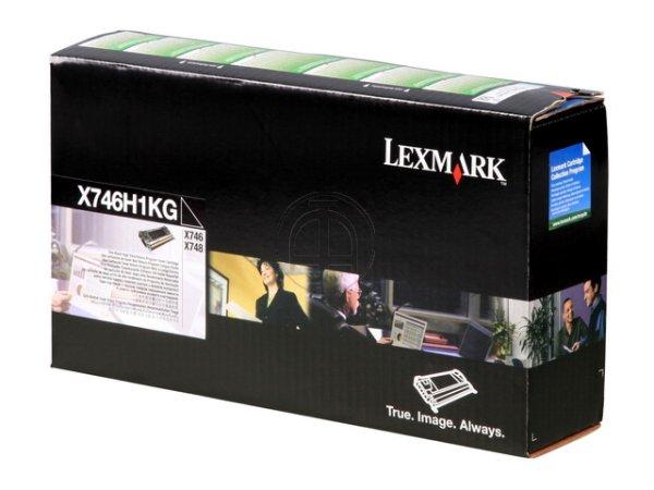 Original Lexmark X746H1KG Toner Black