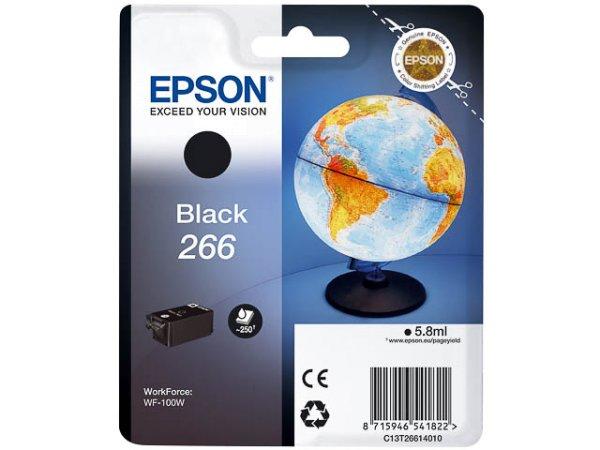 Original Epson C13T26614010 / 266 Tinte Black