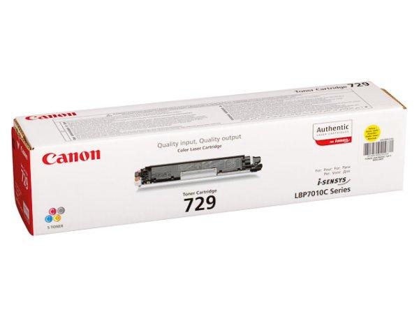 Original Canon 4367B002 / 729Y Toner Yellow