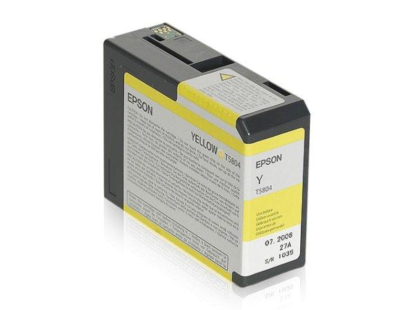 Original Epson C13T580400 / T5804 Tinte Yellow
