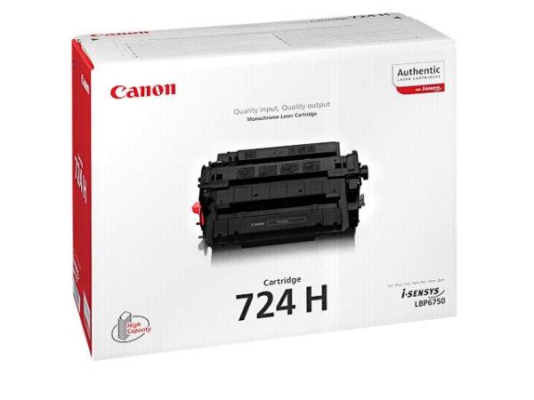 Original Canon 3482B002 / 724H Toner Black