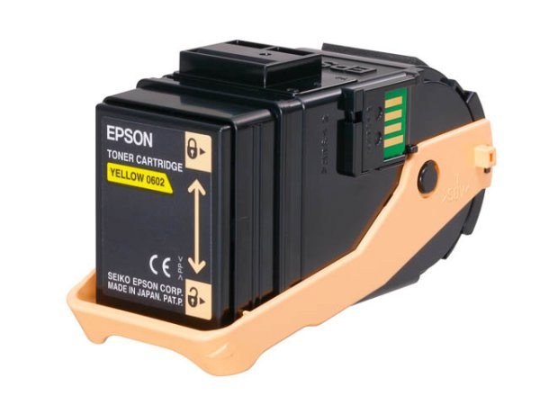 Original Epson C13S050602 Toner Yellow