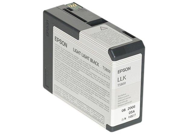Original Epson C13T580900 / T5809 Tinte Black (Light)