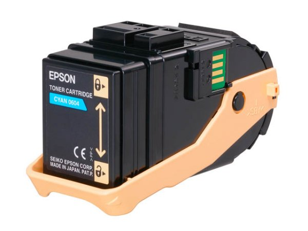 Original Epson C13S050604 Toner Cyan