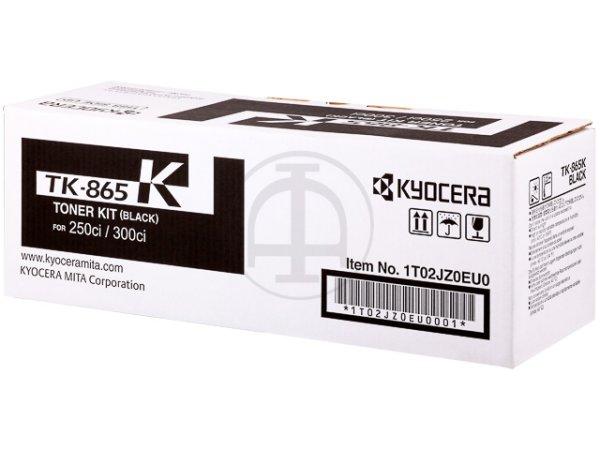 Original Kyocera 1T02JZ0EU0 / TK-865K Toner Black