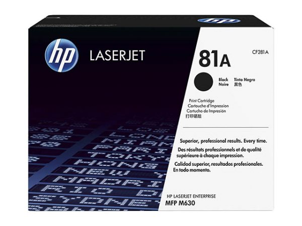 Original HP CF281A Toner Black
