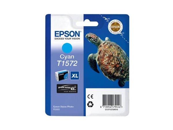 Original Epson C13T15724010 / T1572 Tinte Cyan