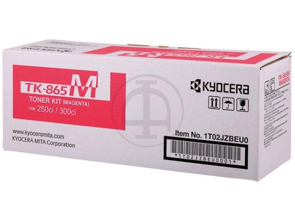 Original Kyocera 1T02JZBEU0 / TK-865M Toner Magenta